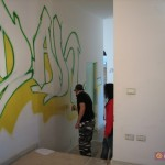 Street Museum - TIM Tribù, artisti a lavoro