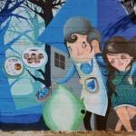 La street art di Sonda e la promozione territoriale italiana
