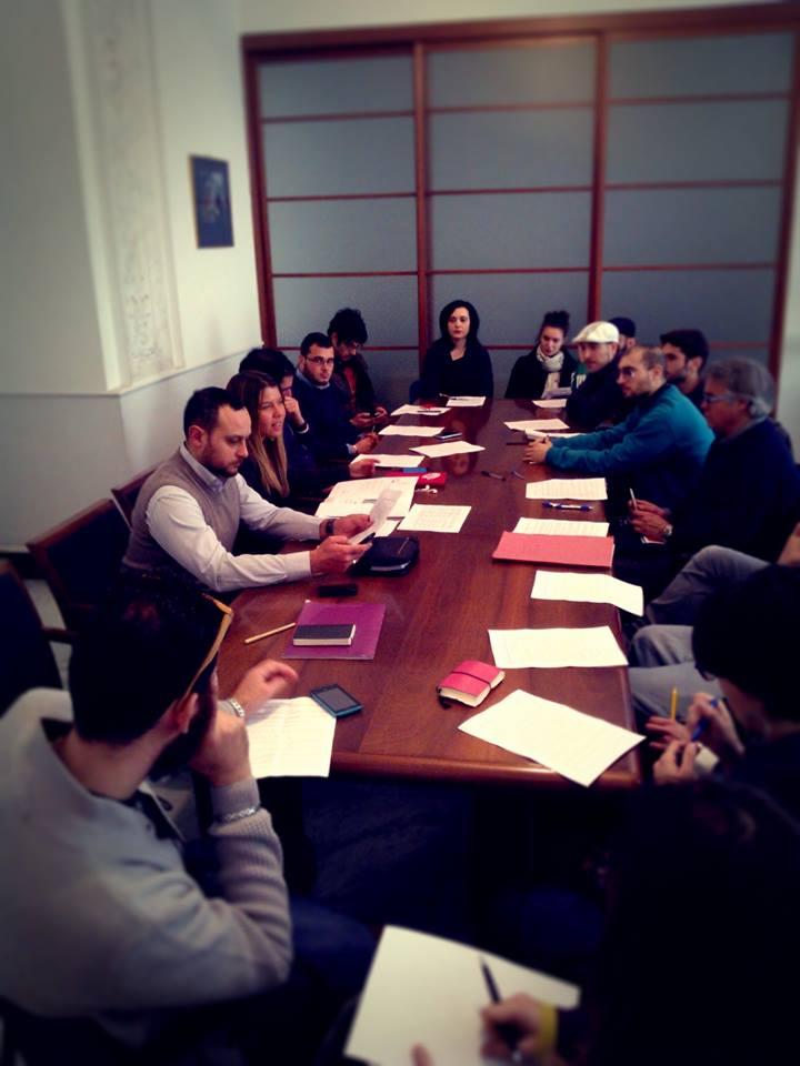 Tavolo per la Creatività Urbana del Comune di Napoli