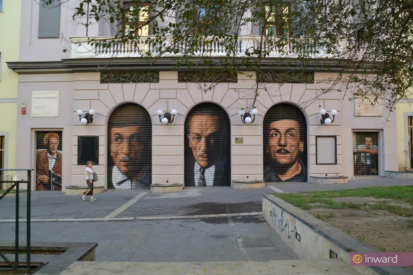Omaggio a Eduardo De Filippo nella sua Napoli