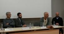 """Salvatore  Velotti, Direttore Sviluppo INWARD, alla conferenza """"Tracks. Linguaggi d'Arte Urbana"""""""