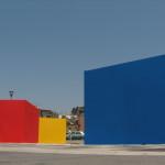 Format W3, San Giorgio a Cremano, 2006, con i colori primari quale omaggio alla pittura per la BJCEM - Biennale dei Giovani Artisti dell'Europa e del Mediterraneo.
