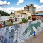 Missione a Mosca: Hitnes all'opera, ospite del programma The Wall del WINZAVOD