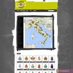 Uno screenshot del portale Italian Graffiti, gestito da INWARD per conto di ANCI - Associazione Nazionale Comuni Italiani dal 2009, quale aggregatore di notizie inerenti la promozione della creatività urbana da parte delle Città d'Italia.