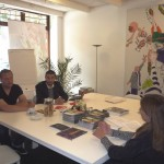 Missione a Den Haag: Salvatore Pope Velotti, direttore sviluppo INWARD, insieme a Jochem Cats, presso la Città de L'Aja, a discutere di urban creativity management