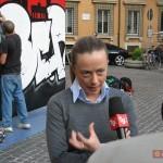 Il format W3 arriva a Roma per il XIX anno dalla caduta del Muro di Berlino e incontra il Ministro della Gioventù, On. Giorgia Meloni, nel 2008. Dipingono per la commemorazione: JBRock, Diamond, Lucamaleonte, Zeus40, Rota.