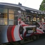 Il Ceres Tram completamente avvolto nella street art di Made514