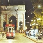 Il Ceres Tram in giro per Milano