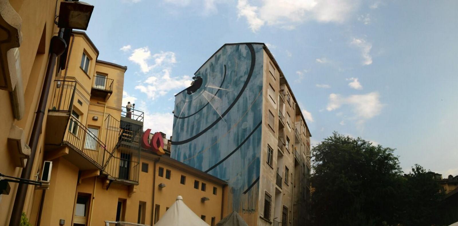 """Torino: """"Blu Cerebrale"""", di Corn79"""