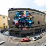 L'opera realizzata da Zedz  al Teatro Colosseo di Torino per Ceres e INWARD, con la collaborazione della Galleria Square23
