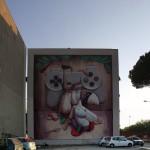 '''A pazziella 'n man' 'e criature'' , l'opera realizzata da ZED1 grazie al sostegno del Rotary Club Campania Napoli