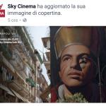 """Sky Cinema ha scelto """"Gennaro"""" di Jorit  per promuovere """"Napoli44"""", docufilm di Francesco Patierno tratto dai diari di Norman Lewis."""