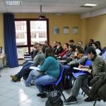 La sala del CSV che ospitava il corso di formazione