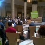 Luca Borriello, direttore ricerca INWARD. presso la Camera di Commercio di Napoli per il 5° Salone Mediterraneo della Responsabilità Sociale Condivisa