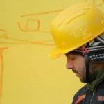 Mattia Campo Dall'Orto durante il work in progress de ''Lo trattenemiento de' peccerille''
