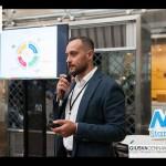 Luca Borriello, direttore ricerca INWARD, presenta il Parco dei Murales al meet up di NA StartUp