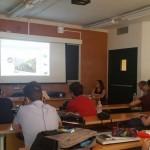 Luca Borriello, direttore ricerca INWARD, presenta il Parco dei Murales presso presso l'Università Federico II di Napoli, Facoltà di Architettura, in collaborazione con MappiNA – Mappa Alternativa delle città