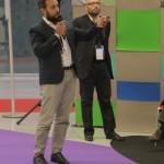Luca Borriello, direttore ricerca INWARD, presenta il Parco dei Murales presso  Il Salone della CSR e dell'innovazione sociale