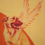 ''Lo trattenemiento de' peccerille'' opera di Mattia Campo Dall'Orto realizzata da INWARD con il sostegno del Forum Regionale della Gioventù Campania e il Comune di Napoli, particolare