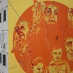 ''Lo trattenemiento de' peccerille'' l'opera di Mattia Campo Dall'Orto realizzata da INWARD con il sostegno del Forum Regionale della Gioventù Campania e il Comune di Napoli