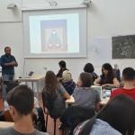 """Luca Borriello, direttore ricerca Inward, al """"Climat Resilient Urban Design"""" presso il Dipartimento di Architettura dell'Università Federico II di Napoli."""