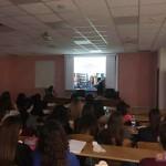 Luca Borriello, direttore ricerca INWARD, presenta le attvità dell'Osservatorio e il Parco dei Murales alla SUN - Seconda Università di Napoli