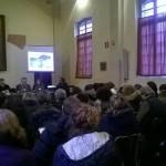"""Luca Borriello, direttore ricerca INWARD, presenta il Parco dei Murales all'evento """"Verso le Buone Pratiche del Lavoro"""""""