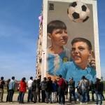 Primo tour di street art al Parco dei Murales con Econote e INWARD