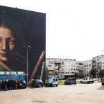 Primo tour di street art al Parco dei Murales con l'associazione culturale Primo tour di street art al Parco dei Murales con l'associazione culturale Econote e INWARD e INWARD