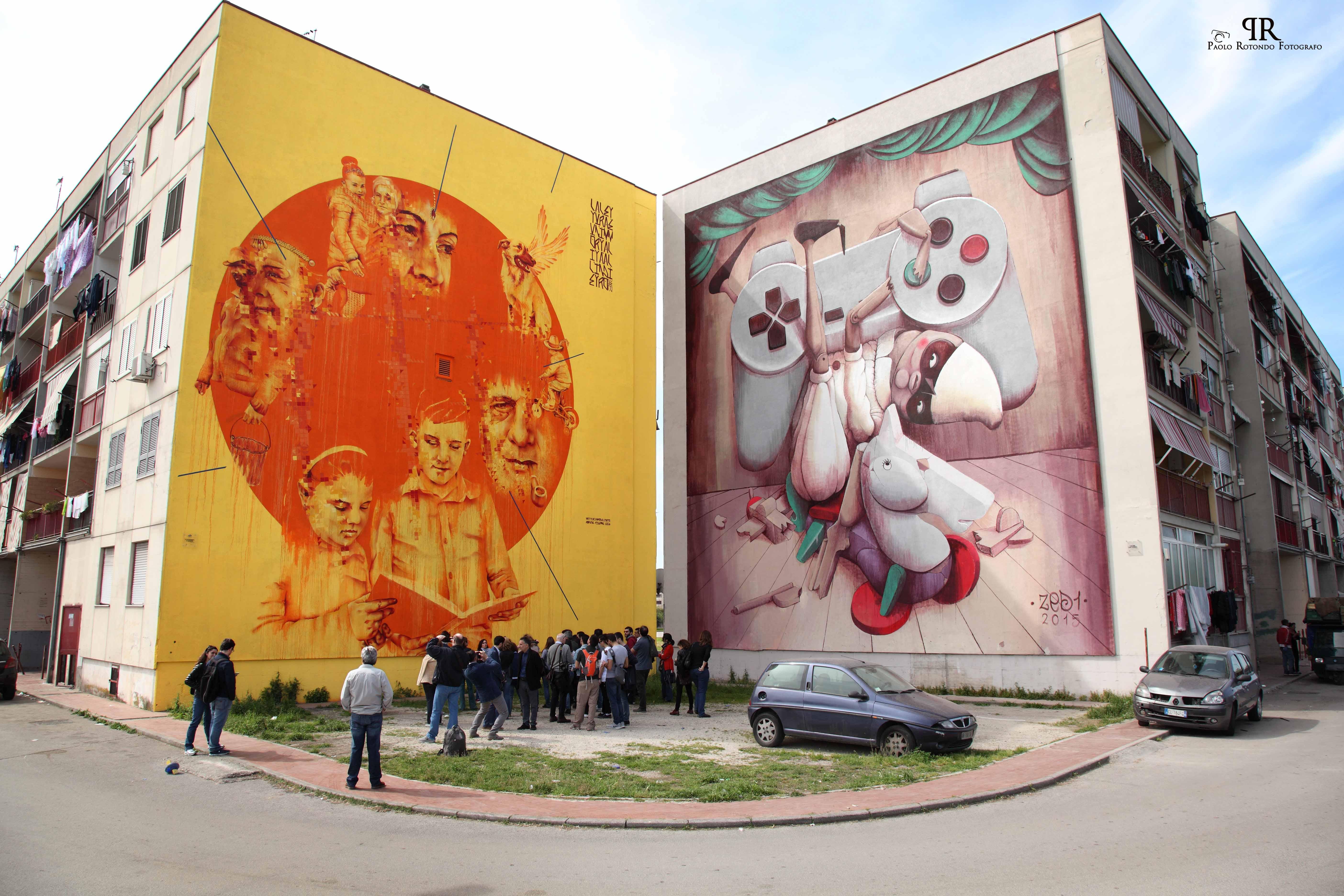Street art tour al Parco dei Murales