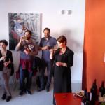 Degustazione vino Munazei Lacryma Christi del Vesuvio Bianco DOC di Casa Setaro, presso il Centro Territoriale per la Creatività Urbana