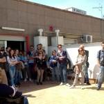 Primo tour di street art al Parco dei Murales con l'associazione culturale Econote e INWARD, presso il Centro Territoriale per la Creatività Urbana