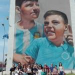 Secondo tour di street art al Parco dei Murales in collaborazione con l'associazione culturale Econote