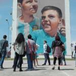 Secondo tour di street art al Parco dei Murales