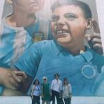 Street art tour internazionale con turisti francesi