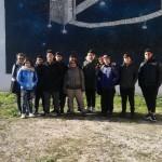 """Tour di street art con studenti e professori dell'Istituto Superiore """"Sannino-De Cillis"""""""