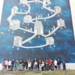 Street art tour alla scoperta della periferia orientale di Napoli con gli educatori ed i ragazzi  del Punto Luce Sanità e del Progetto Wi.u