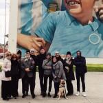 Street art tour con un gruppo da Reggio Emilia