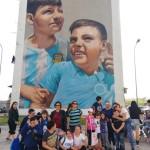 Street art tour con il LET - Laboratorio di educativa territoriale del Consorzio Gesco di Barra con successivo  laboratorio creativo sulle opere