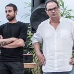 Antonio Sortino e Vincenzo Cascone, organizzatori di Festiwall - Festival d'Arte Pubblica