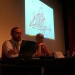 Luca Borriello, direttore ricerca INWARD, insieme con Silvia Camara di Galeria de Arte Urbana | GAU, ha discusso dello scenario internazionale della steet art proponendo un'alleanza europea.