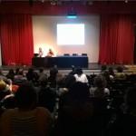 Luca Borriello, direttore ricerca INWARD, inaugura il ciclo di conferenze internazionali sull'arte urbana nell'ambito di Muro - I Festival De Arte Urbana