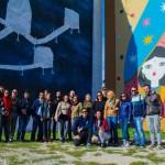 TPrimo social tour di street art al Parco dei Murales