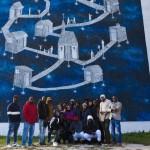 Quarto social tour di street art al Parco dei Murales