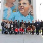 Gli studenti della Federico II in visita al Parco dei Murales