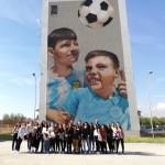 Street art tour con  gli studenti del laboratorio di urbanistica, corso di laurea magistrale MAPA dell'Università degli Studi Federico II di Napoli