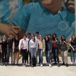 Street art tour con gli studenti internazionali del corso di laurea in progettazione urbanistica del Politecnico di Milano (Polo di Piacenza)