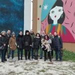 Quinto social tour di street art al Parco dei Murales