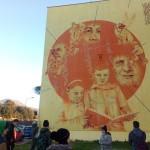 Street art tour con un gruppo di adolescenti ed educatori del Centro Interculturale Nanà