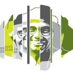 """Logo disegnato da Orticanoodles per """"Un Murale per Giancarlo Siani"""""""